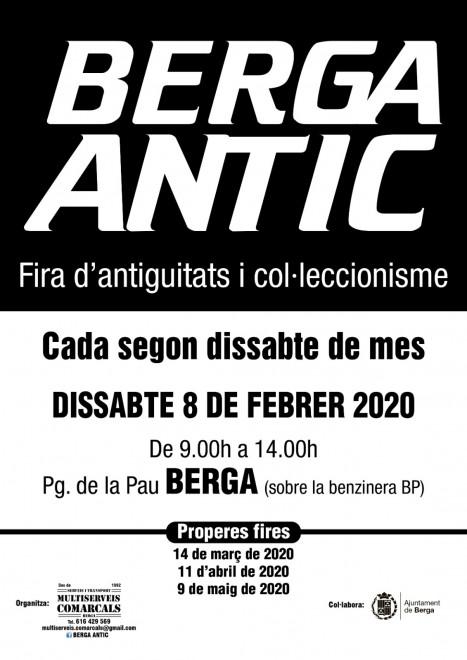 BERGA ANTIC · gener 2020 @ Pg de la Pau (BERGA)