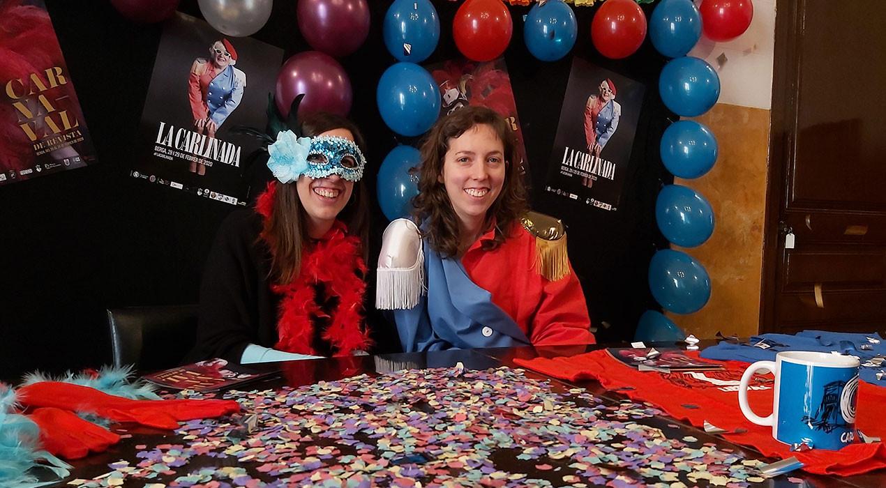 El carnaval de Berga estrena reina i convida les colles a mullar-se per la Carlinada