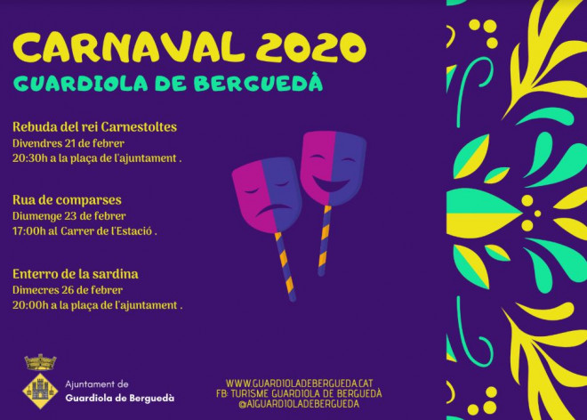 Carnestoltes GUARDIOLA DE BERGUEDÀ 2020 @ Plaça de l'ajuntament (GUARDIOLA DE BERGUEDÀ)