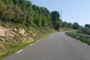 La Diputació comença l'eixamplament de la carretera entre Berga i Fumanya