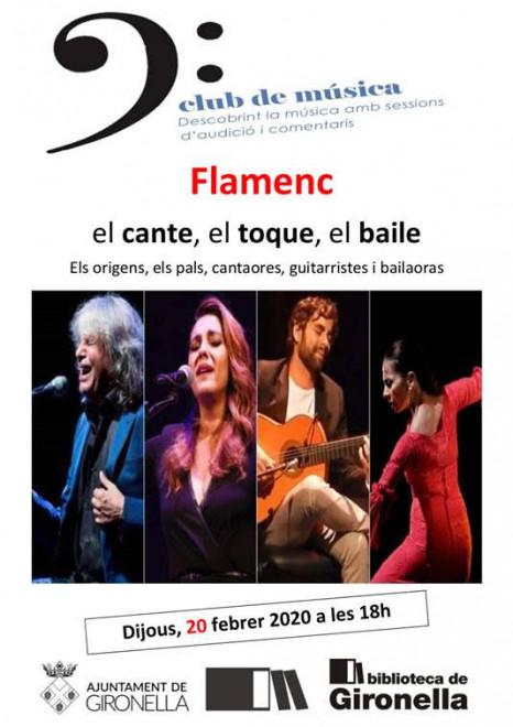 Club de música: flamenc @ Biblioteca de Gironella