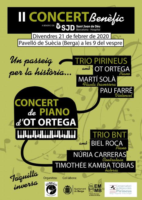 II Concert benèfic @ Pavelló de Suècia (BERGA)