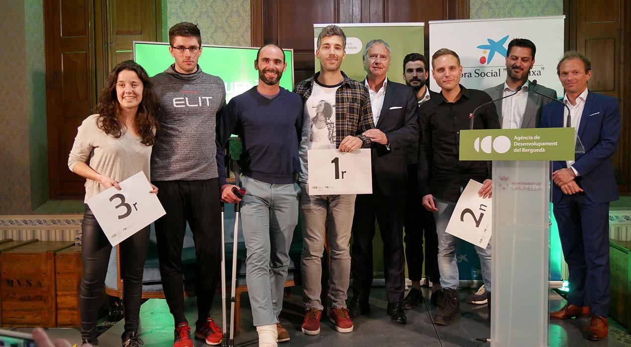 Elit Berguedà s'emporta el primer premi del Concurs d'Idees Emprenedores