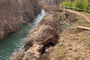 El temporal Glòria va provocar danys materials a Gironella d'uns 185.000 euros