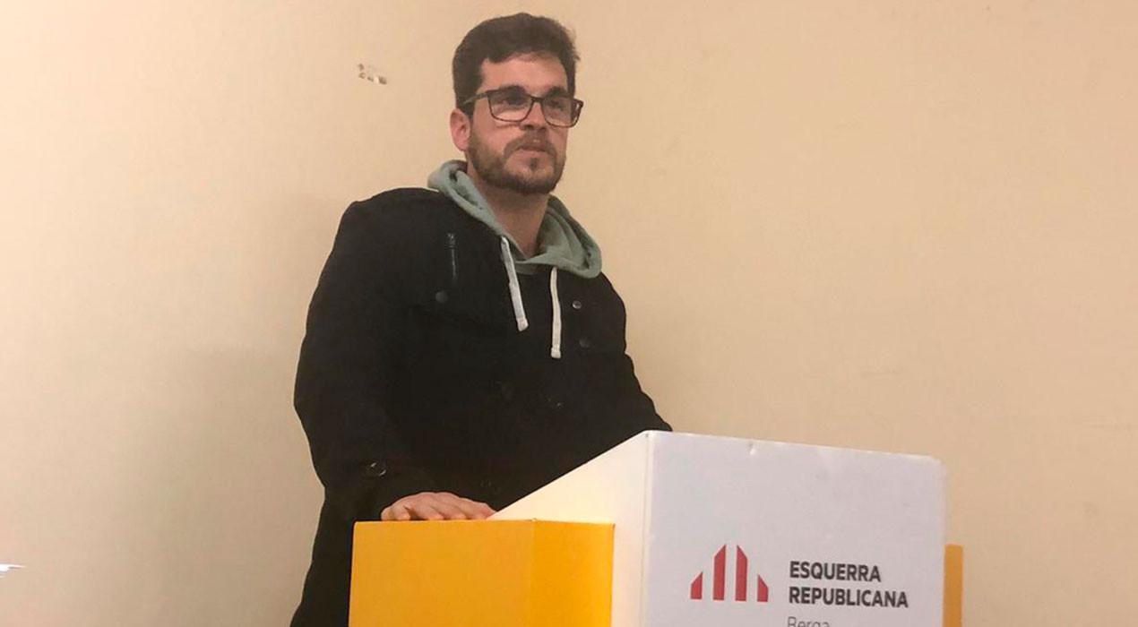 Marc Pons assumeix la presidència d'ERC a Berga