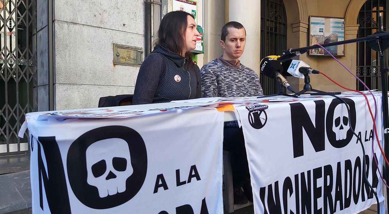 La Plataforma pressiona la Generalitat perquè arxivi l'autorització ambiental de la incineradora