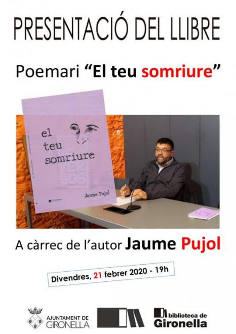 """Presentació del poemari: """"El teu somriure"""" @ Biblioteca de Gironella"""