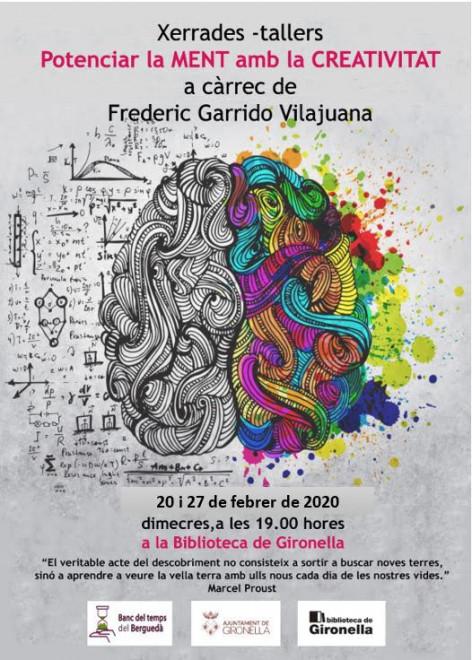 Potenciar la ment amb la creativitat @ Biblioteca de Gironella