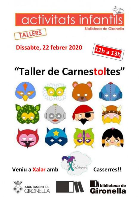 Taller infantil de Carnestoltes @ Biblioteca de Gironella