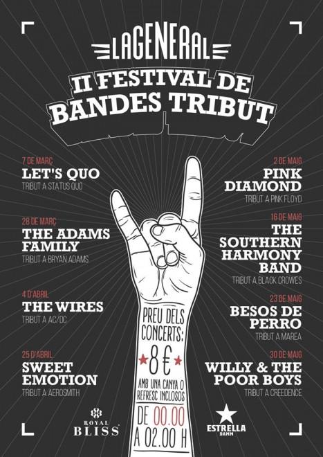 II FESTIVAL DE BANDES TRIBUT @ La General (BERGA)