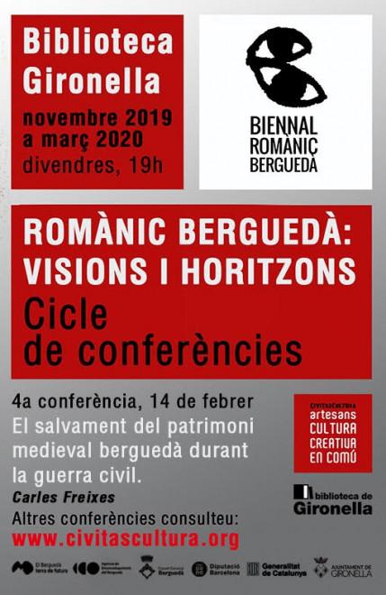 Xerrada romànic berguedà @ Biblioteca de Gironella