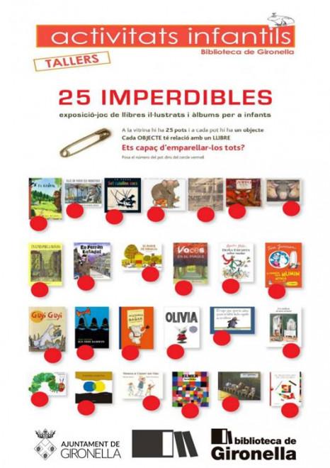 Sessions Guiades de l'Exposició-Joc 25 Imperdibles @ Biblioteca de Gironella