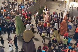 Berga es converteix en l'epicentre de la cultura popular catalana per reivindicar el paper de la dona