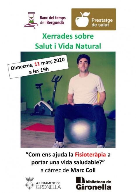 XERRADA: com ens ajuda la fisioteràpia a portar una vida saludable? @ Biblioteca de Gironella