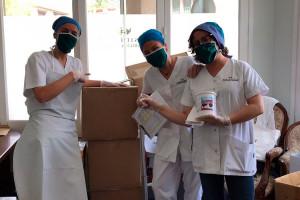 El Rotary Club equipa les residències del Berguedà amb material higiènic gràcies a les donacions de la població