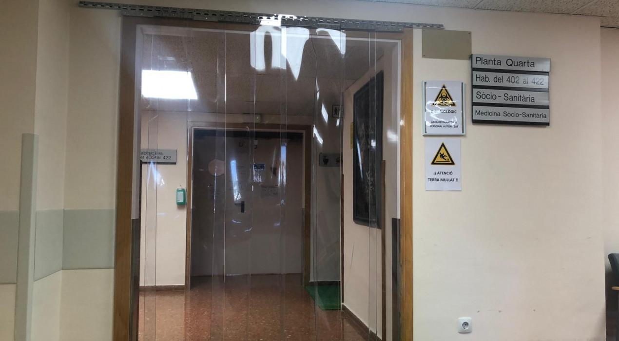L'hospital de Berga registra la xifra més baixa d'ingressats per Covid-19 des de la primera setmana del brot
