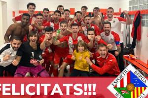 L'Avià i el Berga 'B' aconsegueixen l'ascens a Segona i Tercera Catalana de futbol