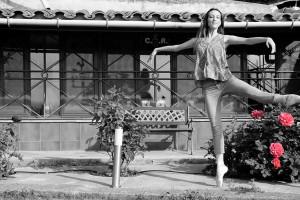 'La dansa de la vida', el resultat del confinament d'una ballarina professional a Berga