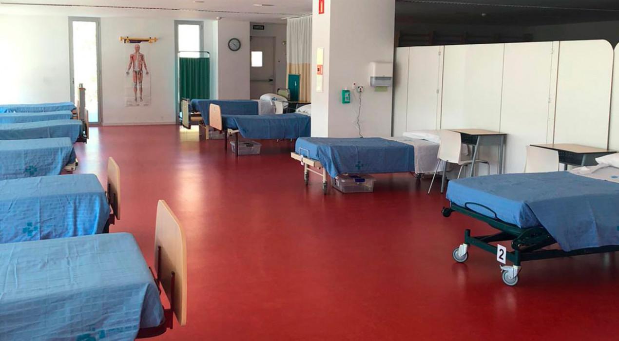 Totes les etapes del Covid-19 a l'hospital de Berga, en dos mesos i dos dies