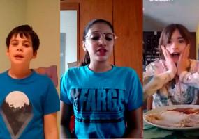 Alumnes de l'Escola Sant Llorenç de Guardiola recorden la importància de menjar sa durant el confinament cantant en forma de rap