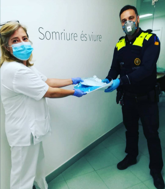 Dental Basterretxea foto policia local