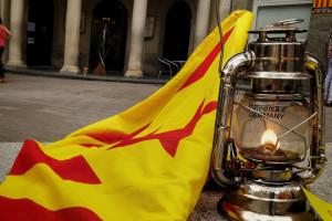 La Flama del Canigó ressegueix el Berguedà per acabar a l'hospital de Berga