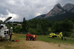 Mor una dona en una sortida de via al Massís del Pedraforca