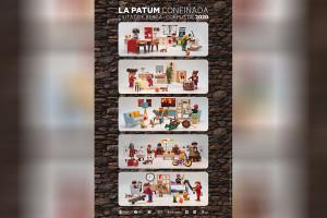 """""""El cartell vol reforçar la idea que la Patum també es pot fer des de casa, encara que no sigui a la plaça"""""""