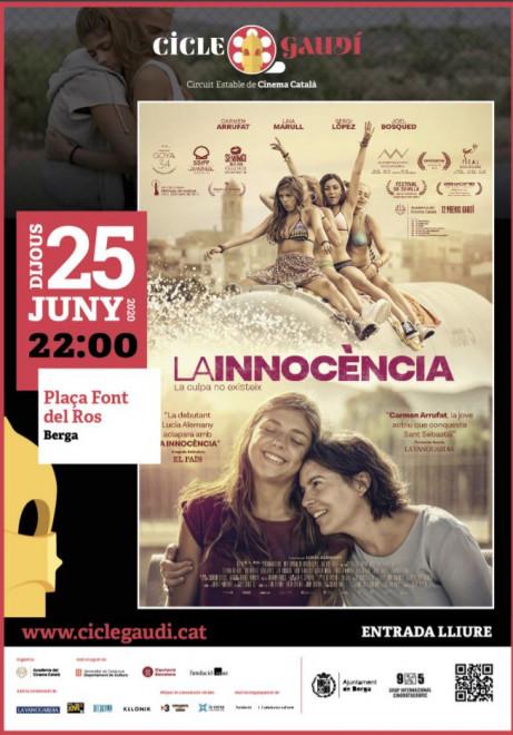 Cinema a la fresca: 'La Innocència' @ Plaça Font del Ros (BERGA)