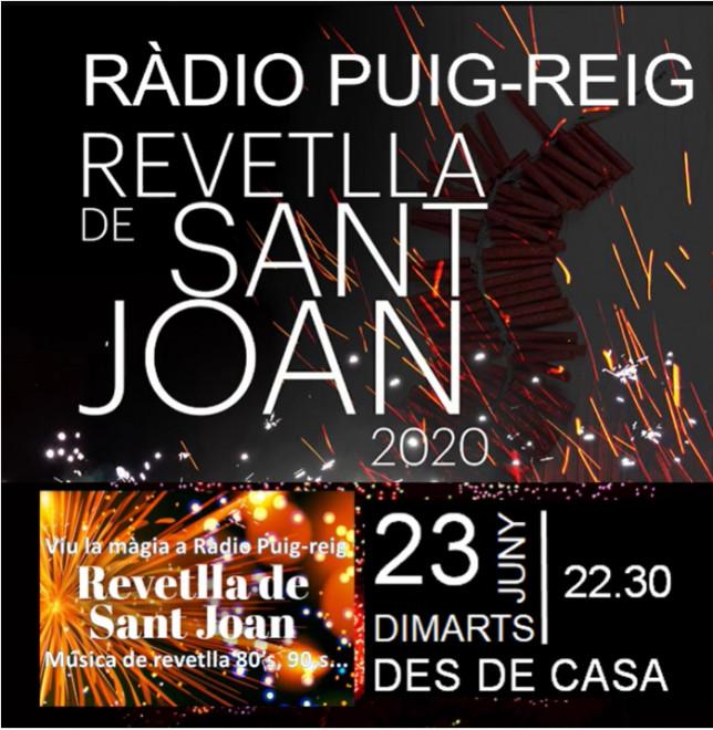 Revetlla de Sant Joan des de casa @ Ràdio Puig-reig