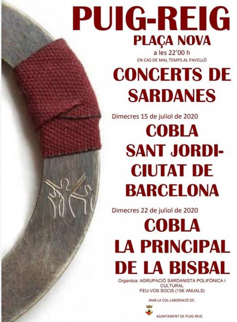 Concert de sardanes @ Plaça Nova (PUIG-REIG)