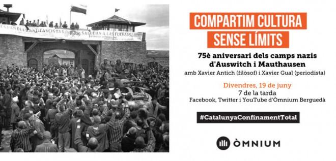 75è aniversari dels camps nazis d'Auswitch i Mauthausen @ ONLINE