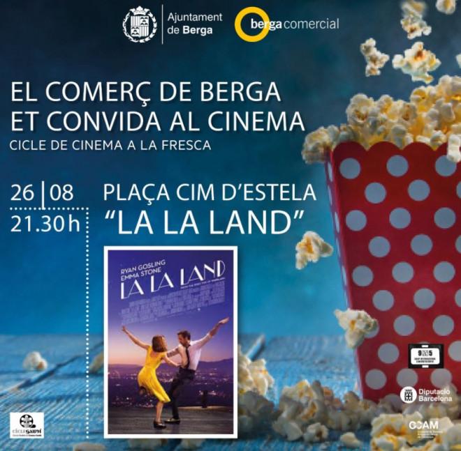 Cinema a la fresca: LA LA LAND @ Plaça Cim d'Estela (BERGA)
