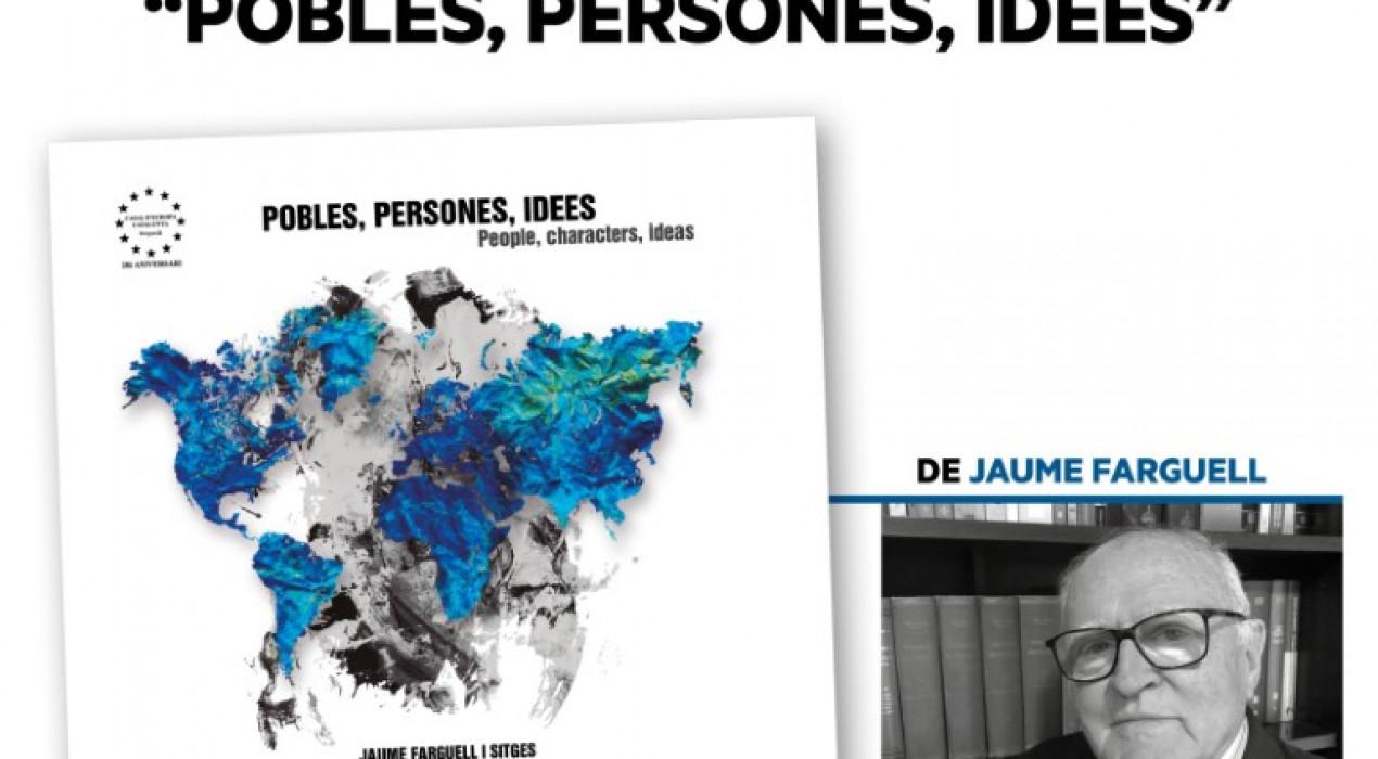 """Presentació del llibre """"Pobles, persones, idees"""