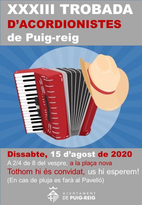XXXIII Trobada d'acordionistes de Puig-reig @ Plaça Nova (PUIG-REIG)