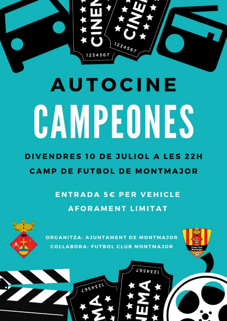 Autocine: CAMPEONES @ Camp de futbol de MONTMAJOR