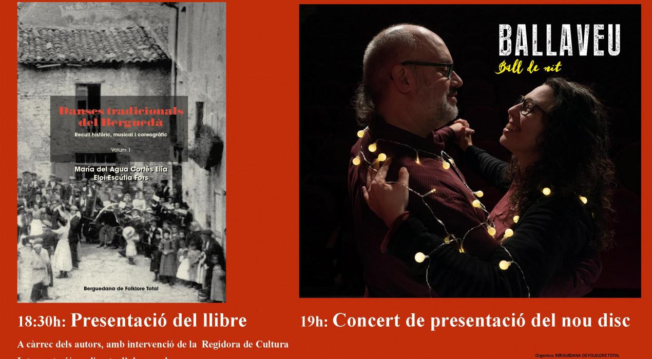 Presentació llibre i concert
