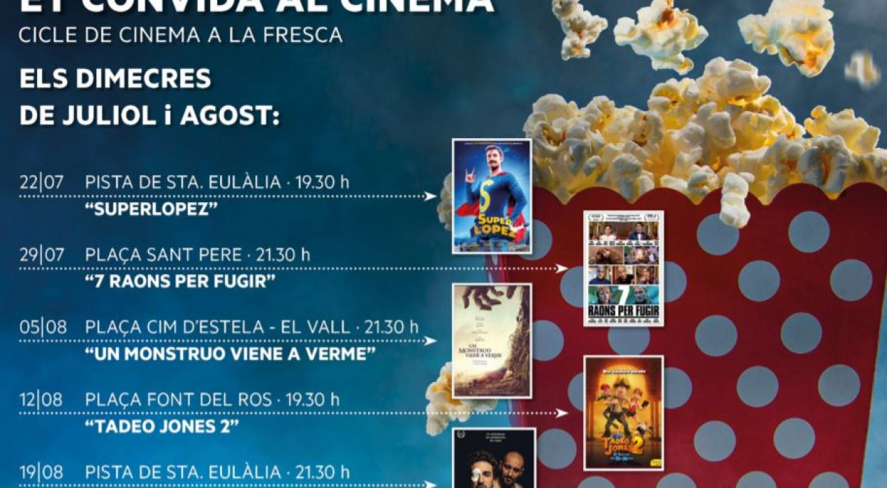 Cinema a la fresca: SUPERLÓPEZ
