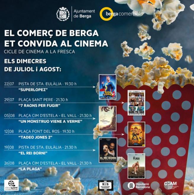 Cinema a la fresca: Un monstruo viene a verme @ Plaça Cim d'Estela  (BERGA)