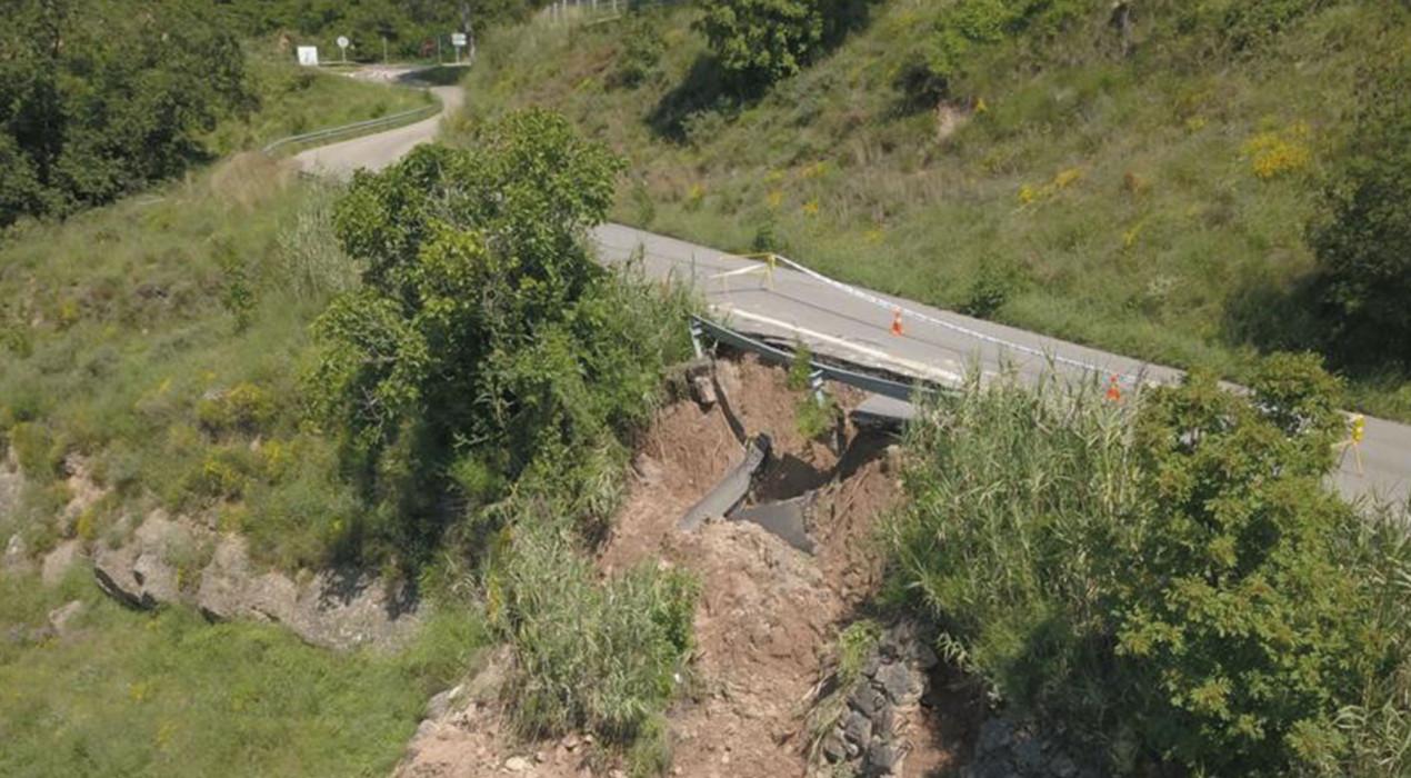Berga inicia dilluns les obres per poder reobrir el camí cap a la carretera de Queralt