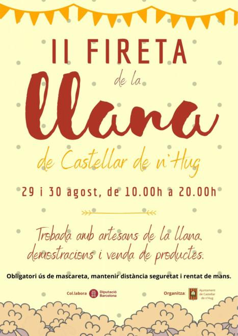 FIRETA D'ARTESANS DE LA LLANA 2020 @ Castellar de n'Hug