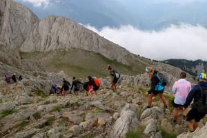 """El Pedraforca acumula 600 excursionistes cada cap de setmana i els Bombers alerten que molts hi van """"poc preparats"""""""