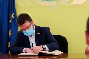 El vicepresident Pere Aragonès, en contra de la incineradora, obrirà debat dins el Govern de la Generalitat