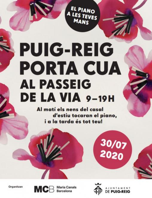 MARIA CANALS PORTA CUA @ Passeig de la Via  (PUIG-REIG)