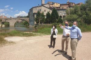 L'ACA adequa diversos trams del Llobregat a Gironella