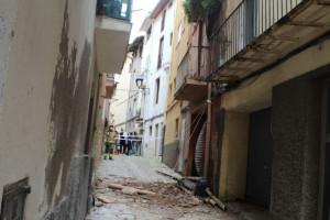 La CUP va demanar inspeccions a la casa esfondrada quan era a l'oposició