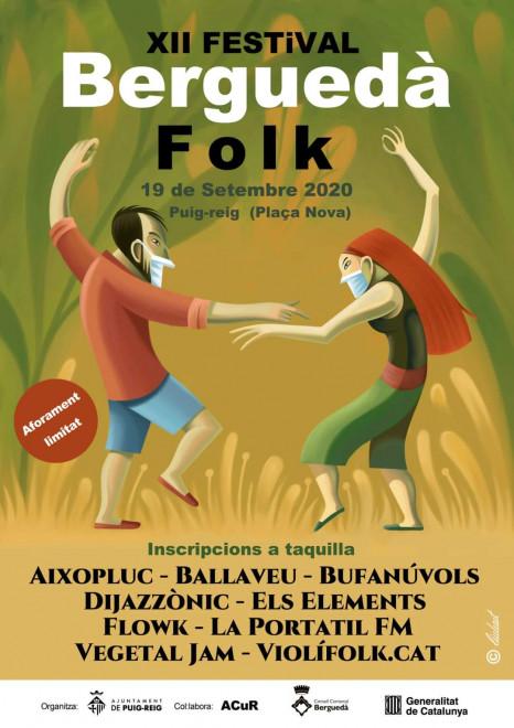 Festival Berguedà Folk 2020 @ Plaça Nova (PUIG-REIG)