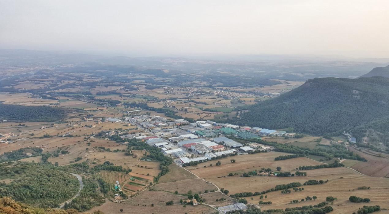 Comença el gruix de les obres de modernització del polígon industrial de la Valldan