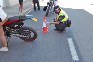 Berga multarà els ciclomotors i motocicletes que facin molt soroll