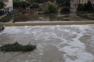 L'aiguat deixa més de 100 litres al Berguedà